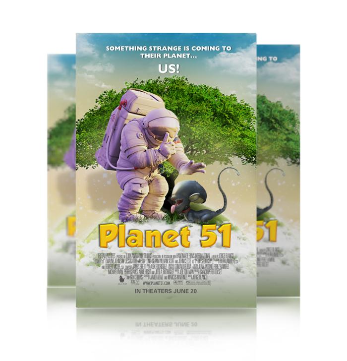 Кадры из фильма смотреть онлайн 51 планета